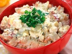 Салат новый картофельный